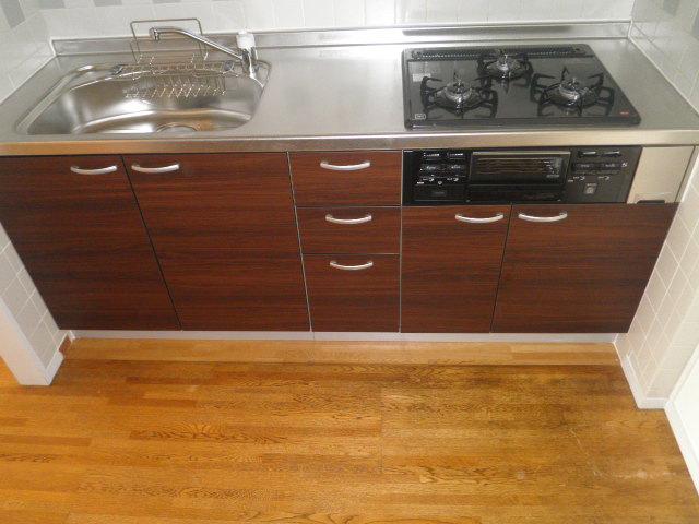 ウスイグリーンビル 401号室のキッチン