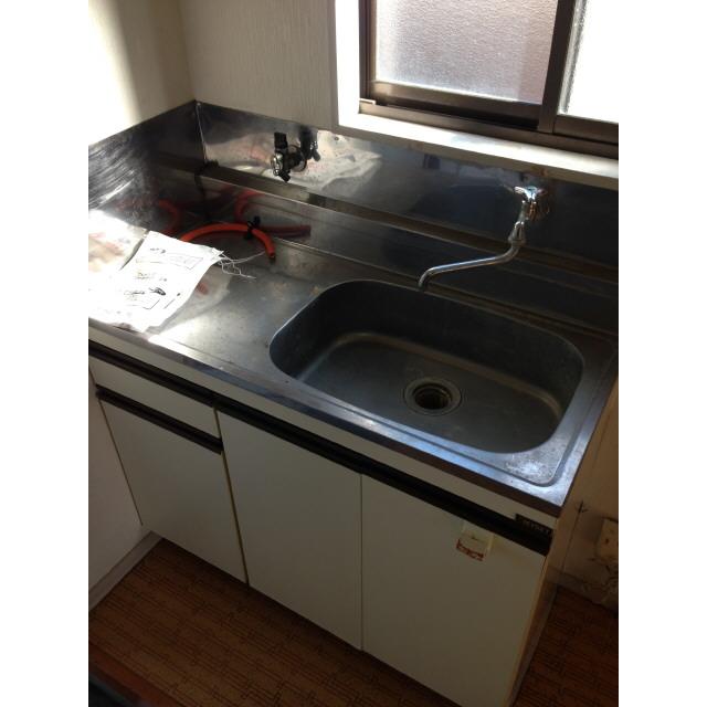 ニュー柏ハイツ 201号室のキッチン
