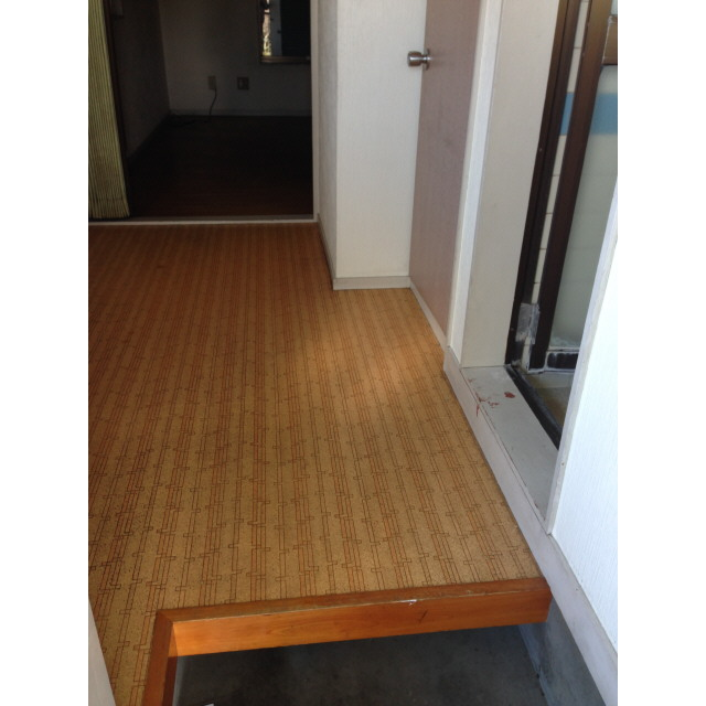 ニュー柏ハイツ 201号室の玄関