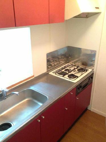 レオパレス湘南B 108号室のキッチン