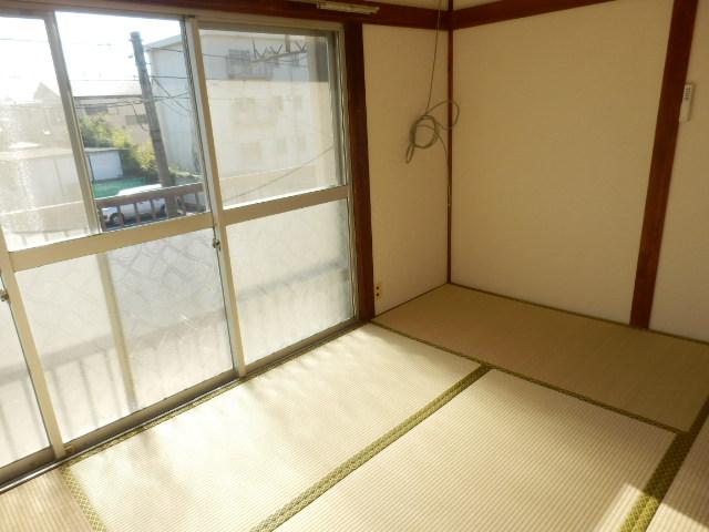 旭荘 10号室のベッドルーム