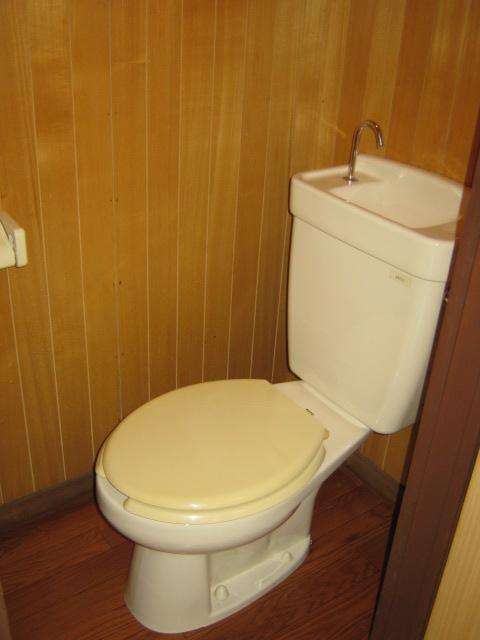 新富士見荘 101号室のトイレ