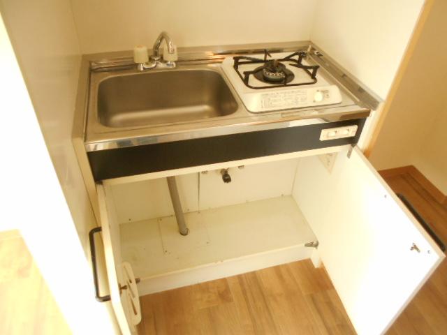 溝呂木ビル 302号室のキッチン