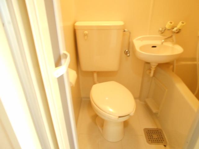 溝呂木ビル 302号室のトイレ