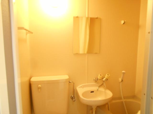 溝呂木ビル 302号室の洗面所