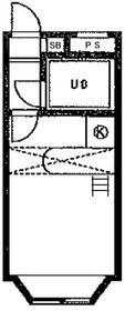 ベルピア北松戸第7・202号室の間取り
