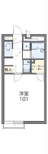 レオネクストbloomⅢ・102号室の間取り