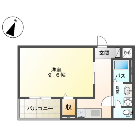(仮称)平塚市紅谷町マンション新築工事 00202号室の間取り
