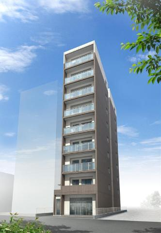 (仮称)平塚市紅谷町マンション新築工事外観写真