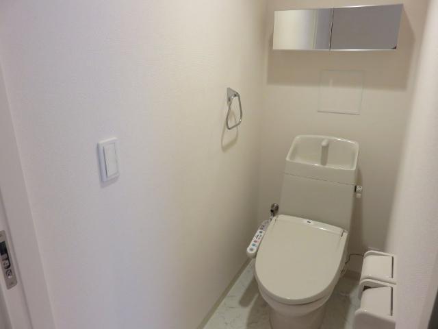(仮称)平塚市紅谷町マンション新築工事 00401号室のトイレ