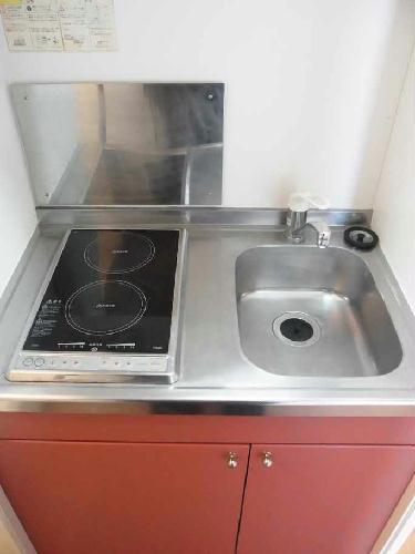 レオパレスCREW 103号室のキッチン
