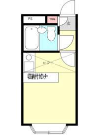 ベルピア鎌倉第3・204号室の間取り