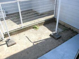 東田テラスハウスⅡの庭