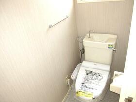 東田テラスハウスⅡのトイレ