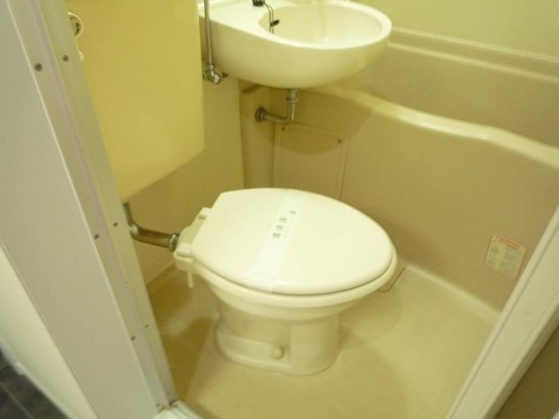 ノーリーズン柏 103号室のトイレ