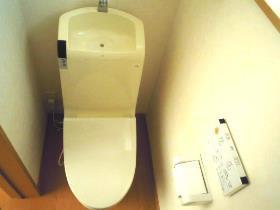 大鋸戸建のトイレ