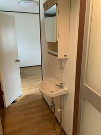 細谷ハイツ 202号室の洗面所