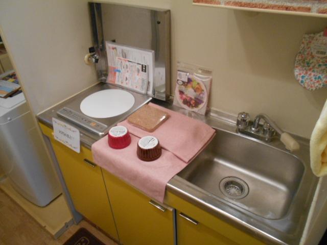 ヒカリハイツ 102号室のキッチン