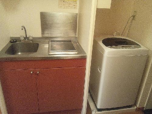 レオパレスコンフォールK 104号室のキッチン