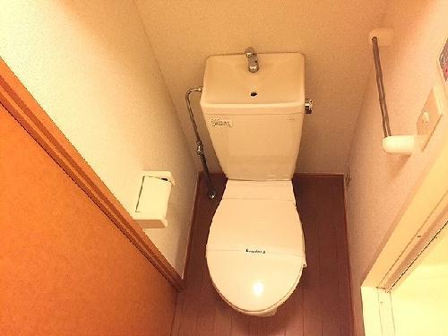レオパレスコンフォールK 104号室のトイレ