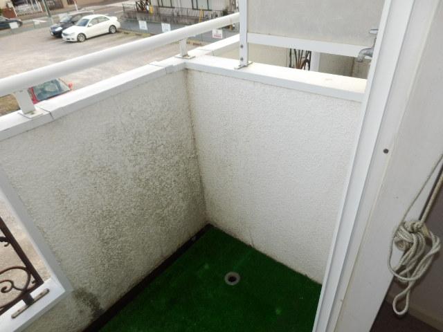 オークパレス 206号室の景色