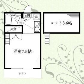 REA-HOUSE二宮・102号室の間取り