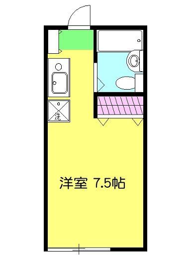 ティアラ湘南辻堂・102号室の間取り