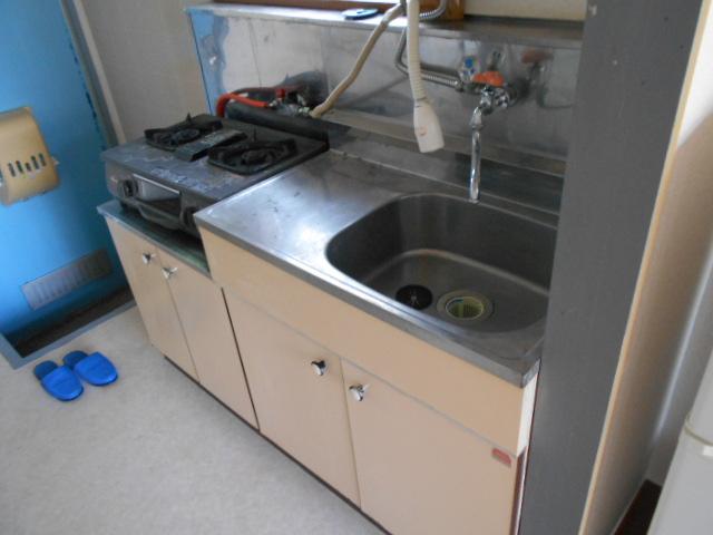 グリーンプラザ 203号室の玄関