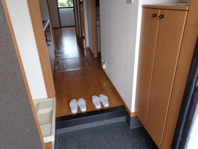 レジデンスSAKURA 101号室の玄関