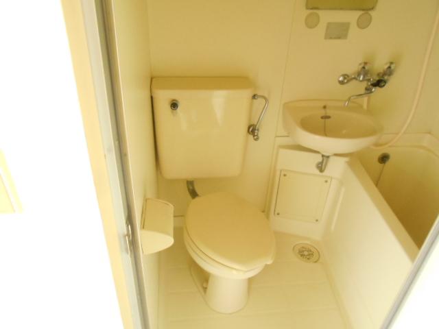厚木ユースハイム 101号室のトイレ