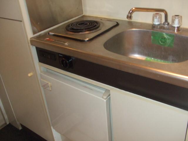 ジュネパレス柏第46 102号室のキッチン