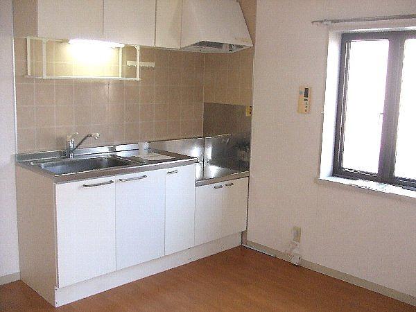 パールハイツ海老原38 203号室のキッチン