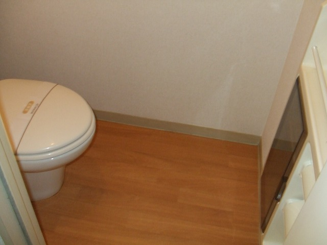 パールハイツ海老原38 203号室のトイレ