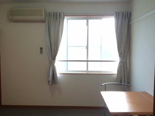 レオパレスパークサイド 207号室のリビング