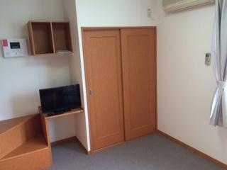 レオパレスパークサイド 207号室の収納