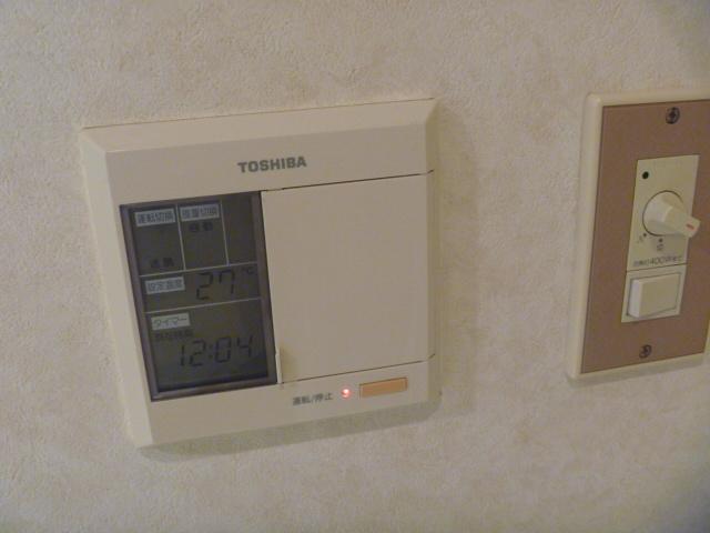 サンピア平塚 206号室のエントランス