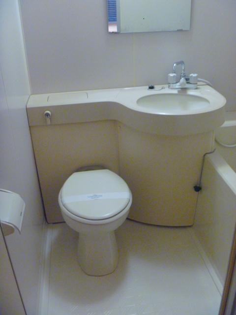 サンピア平塚 206号室のトイレ