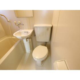 青山ホーム 203号室のトイレ