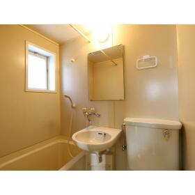 青山ホーム 203号室の洗面所