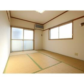青山ホーム 203号室のリビング