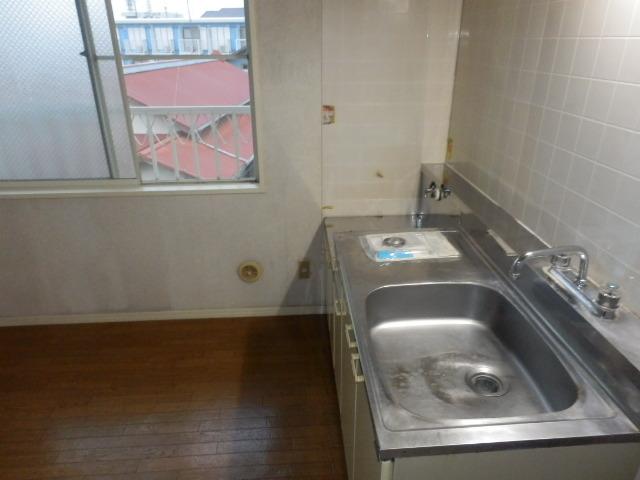 フレグランセA 201号室のキッチン