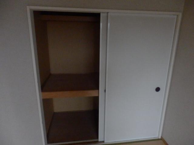 フレグランセA 201号室の収納