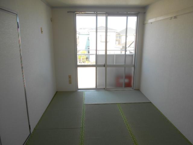 グリーンコーポ 202号室のベッドルーム