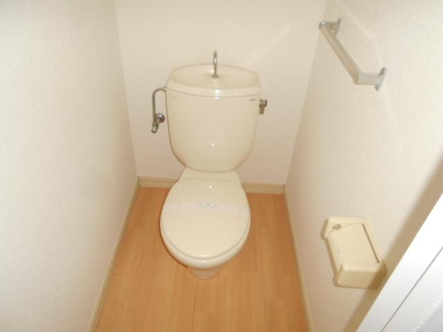 グリーンコーポ 202号室のトイレ