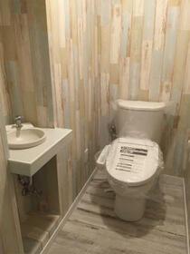 トーオービル 3-B号室のトイレ