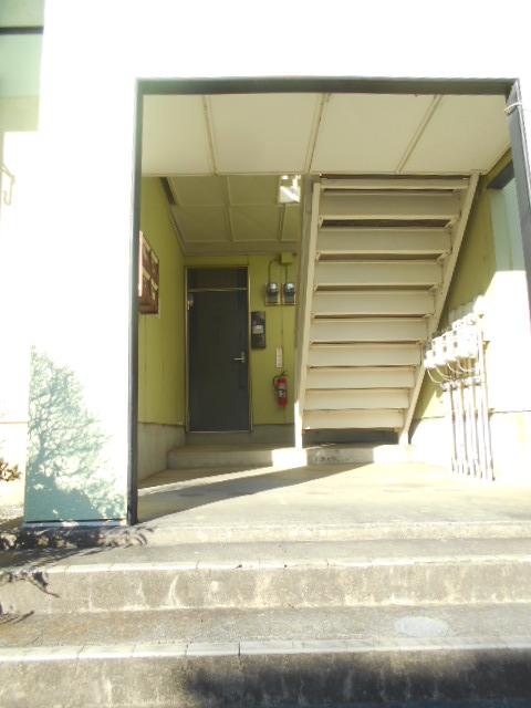グリーンヒルTOMURO D 101号室のエントランス