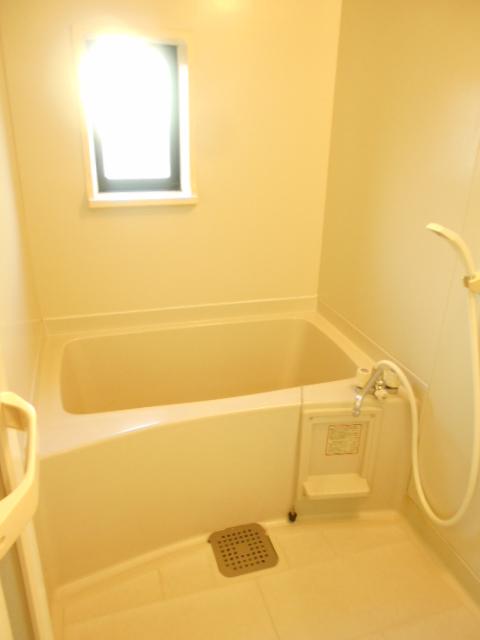 グリーンヒルTOMURO D 101号室の風呂