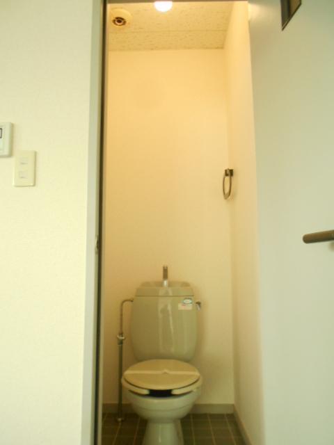 グリーンヒルTOMURO D 101号室のトイレ
