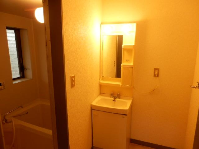 第2メゾンサンシャイン 201号室の洗面所