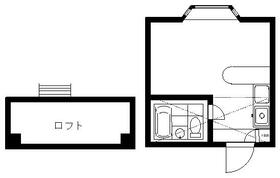 エルティオ新松戸・206号室の間取り
